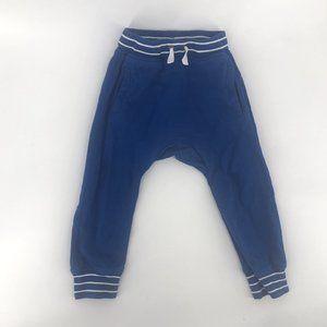 Boys Joggers Hanna Andersson Blue Swear Pants Size